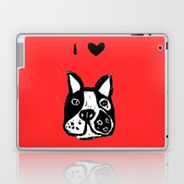 I heart Dogs Laptop & iPad Skin