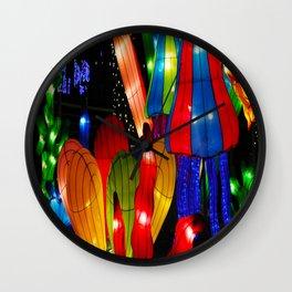 Jelly fish reef Wall Clock