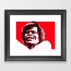 James Brown Framed Art Print