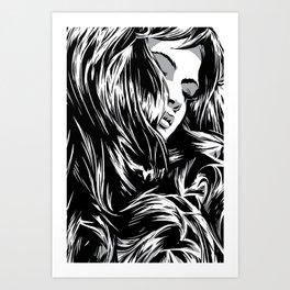 RZP Girl Art Print