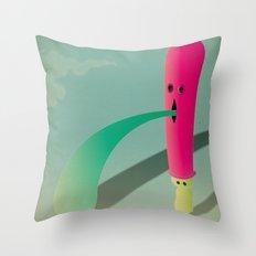 v o m Throw Pillow