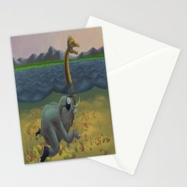 The truth of Loch Ness Stationery Cards