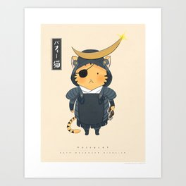 Buffycat: Date Disguise Art Print