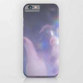 Stone in hand iPhone Case