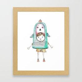 kid Framed Art Print