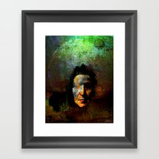 The oracle of Delphes Framed Art Print