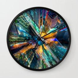 Deep City Wall Clock