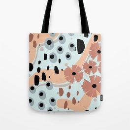 Sea Flowers Tote Bag