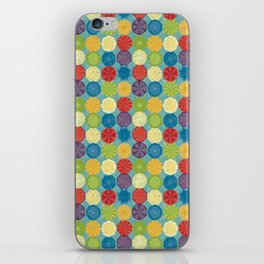 round and colour 6 iPhone Skin