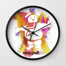 stay.puft.inc Wall Clock