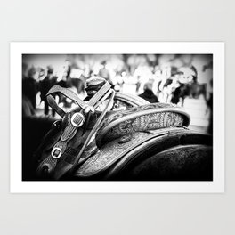 Get Back In The Saddle Art Print