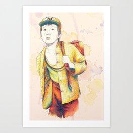 Short Round - Secondary character? Never! Art Print