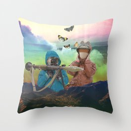 Youth in Revolt Throw Pillow