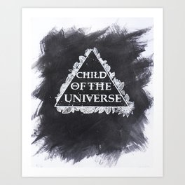 Child of the Universe  Art Print