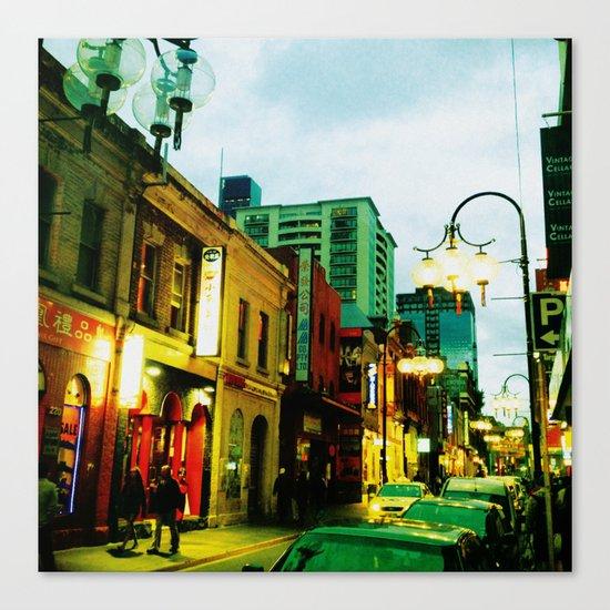 Chinatown Colour Canvas Print