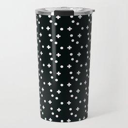 Dots & Crosses Travel Mug