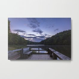 Sunrise at Longbranch Lake Metal Print