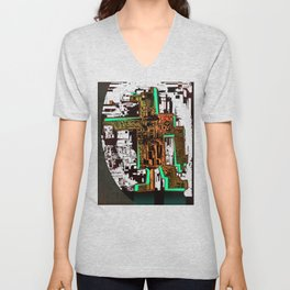 Spatial Robotic City Lab Unisex V-Neck