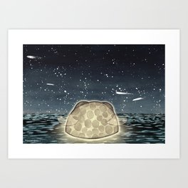 Little Moon – Moonless Art Print