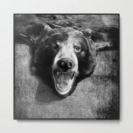the bear Metal Print