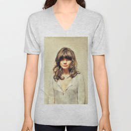 Linda Ronstadt, Music Legend Unisex V-Neck