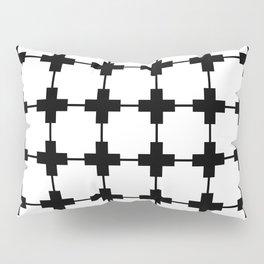 Tiles White Pillow Sham