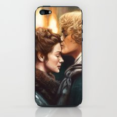 Jamie & Claire iPhone & iPod Skin