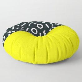 Memphis pattern 51 Floor Pillow