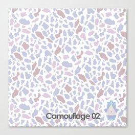 camouflage 02 Canvas Print
