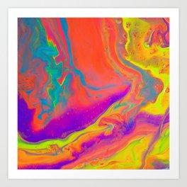 Psychedelic dream Art Print