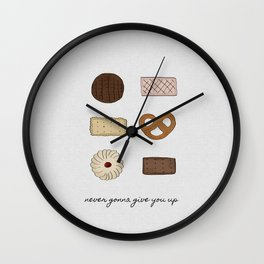 Never Gonna Give You Up, Kitchen Decor Wall Clock