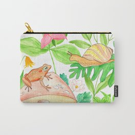 Frog meets Snail Carry-All Pouch