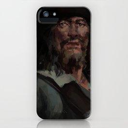 Hector Barbossa iPhone Case