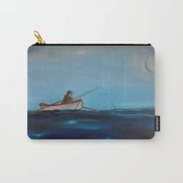 Man Fishing Carry-All Pouch