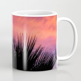 Palm Sunset - 7a Coffee Mug