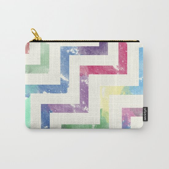 Colorful Geometric VI Carry-All Pouch