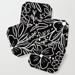 Chalk Florals Coaster