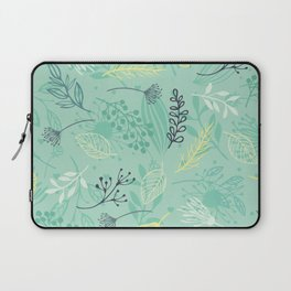 the yellow flower Laptop Sleeve