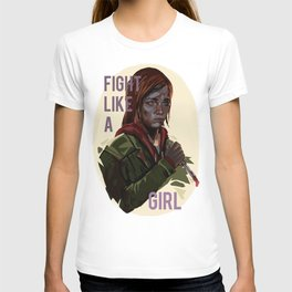 Ellie the last of us T-shirt