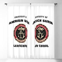 University of American Samoa Blackout Curtain