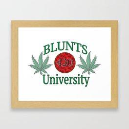 Blunts University  Framed Art Print