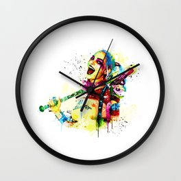 Harley Q Wall Clock