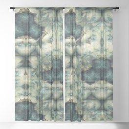 Stone Bower Sheer Curtain