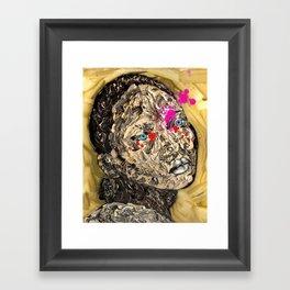Blood Gold Girl Framed Art Print