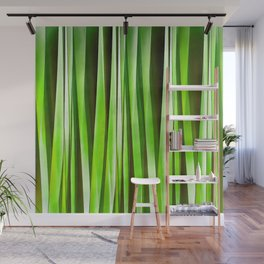 Tropical Green Riverweed Wall Mural