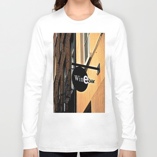 The Wine Bar Long Sleeve T-shirt