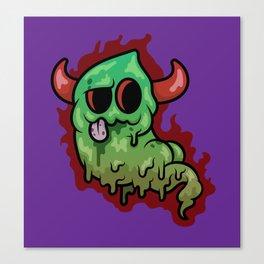 Stink Demon Canvas Print