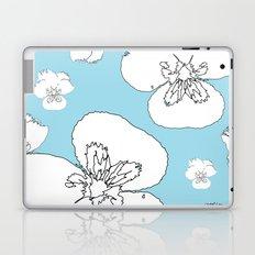 Blue Pansies Laptop & iPad Skin