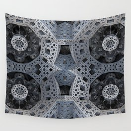 Fractal Art - spaceship drive Wall Tapestry