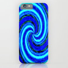 Abstract Blue Modern. iPhone 6s Slim Case